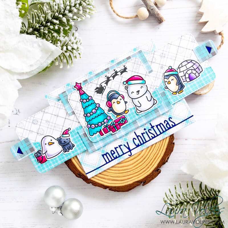 Christmas Slider Surprise Card