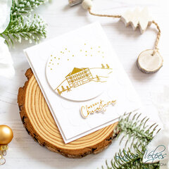 Elegant Foiled Christmas Card
