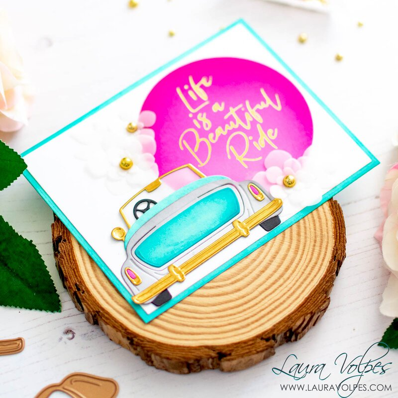 Uplifting Card with Glimmer Hot Foil