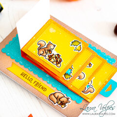 Flippin Awesome Fall Card   Lawn Fawn Let's Go Nuts