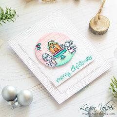 Lawn Fawn Christmas Card