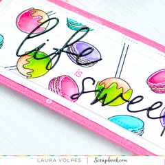 DIY Rainbow Patterned Paper