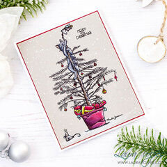 Clean and Simple Christmas Card | Colorado Craft Company