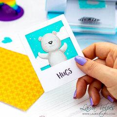Polaroid Style Card