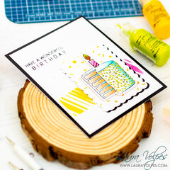 Clean and Simple Birthday Card feat Wendy Vecchi