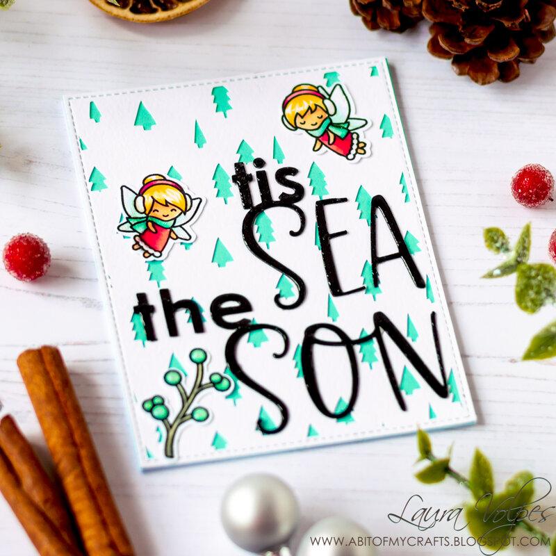 Christmas Cards with Scrapbook.com Tis the Season Cut Files