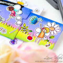 Double Slider Surprise feat Waffle Flower Little Fairies