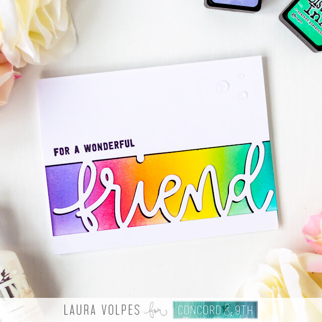 Clean and Simple Friendship Card
