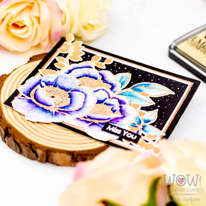 Watercolor Floral Card feat Altenew