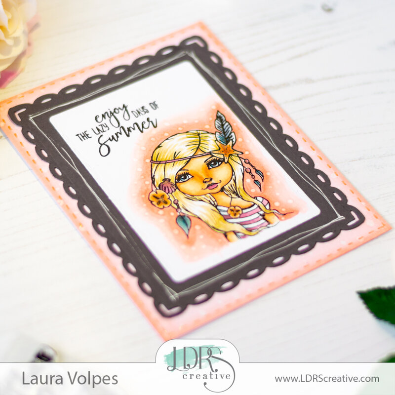 Boho Inspired Summer Card