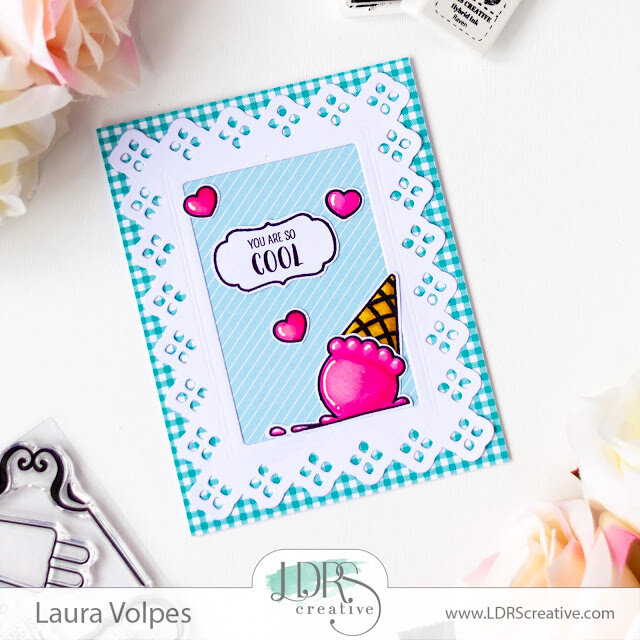 Quick and Easy Summer Card | LDRS Creative Ice Cream Party