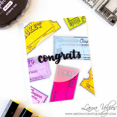 Bright Congratulations Card