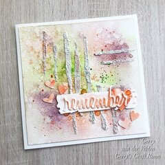 Easy Mixed Media card