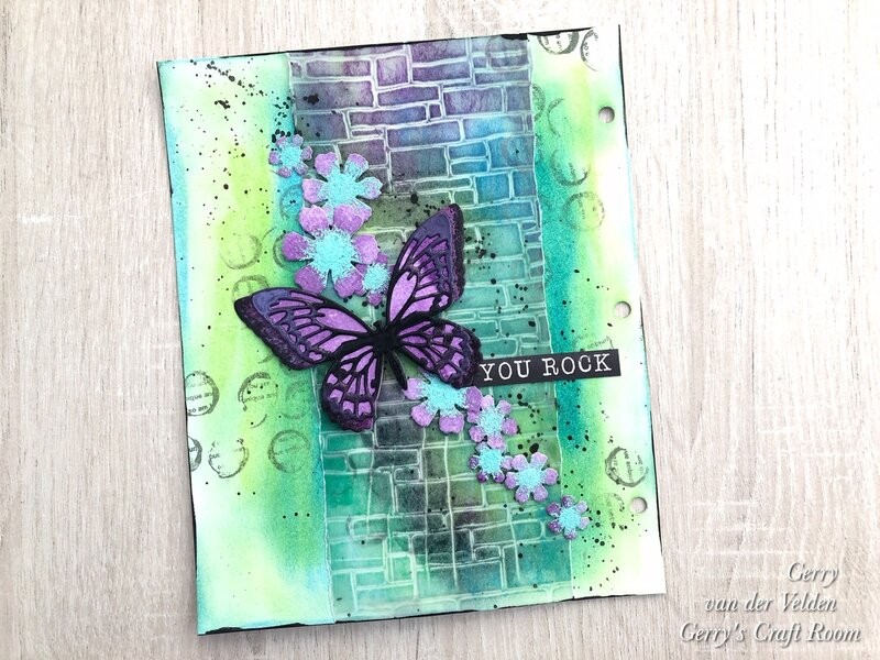 5 ways to use stencils part 1