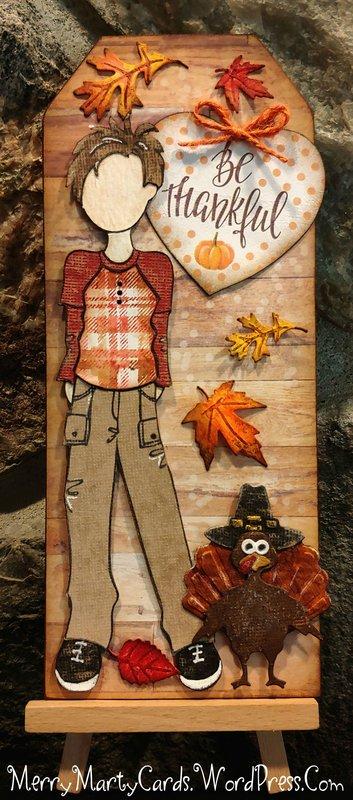 Be Thankful Thanksgiving Tag