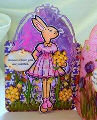 Springtime Julie Nutting Bunny Tag Book (page 2)