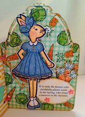 Springtime Julie Nutting Bunny Tag Book (page 5)
