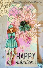 Julie Nutting Warm Wishes Tag