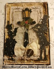 Snowy Victorian Carolers