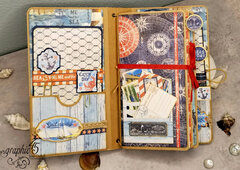 G45 Decorated Travel Album and Notebook Set