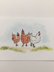 Art Impressions - 'Chicken up on you'