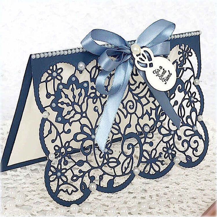 Lace Card Front