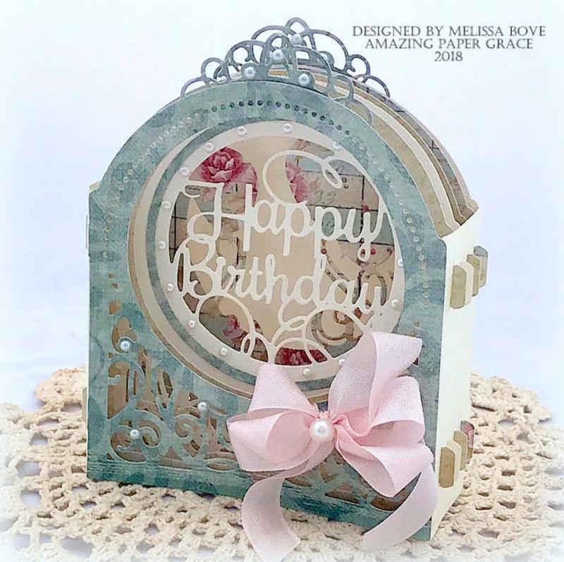 Grand Dome 3D Birthday Card