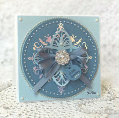 Petite Looking Glass Card