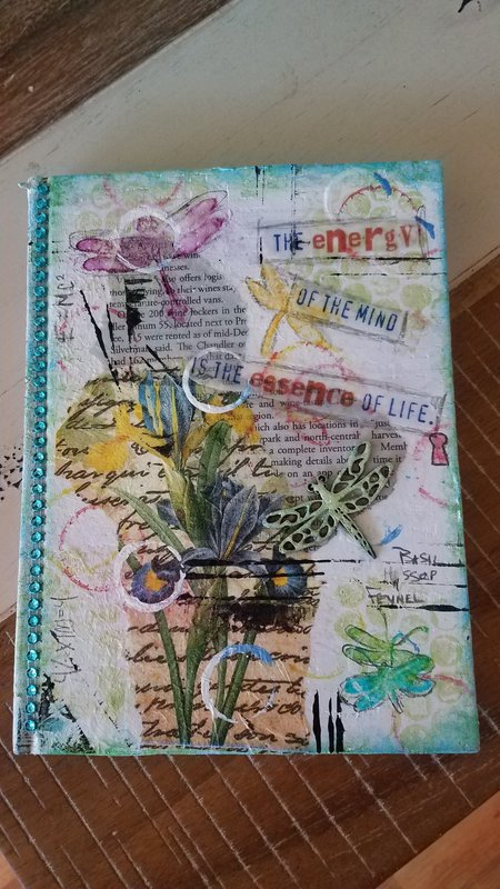 Journal, mixed media