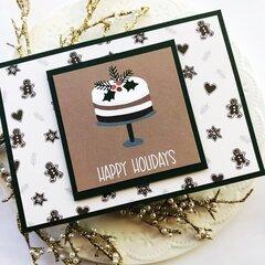 December pocket card Christmas cards