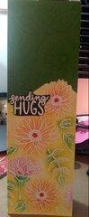 Sending Hugs Slimline Card