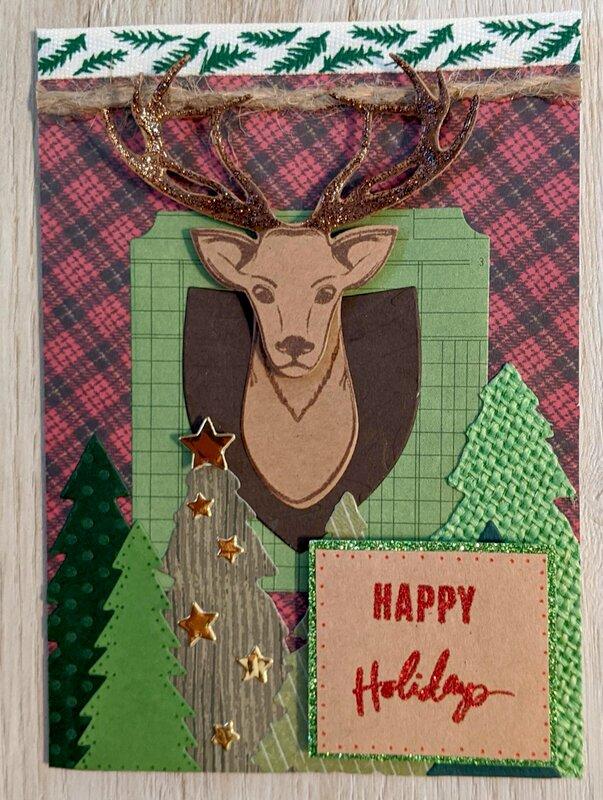 Happy Holidays (deer)