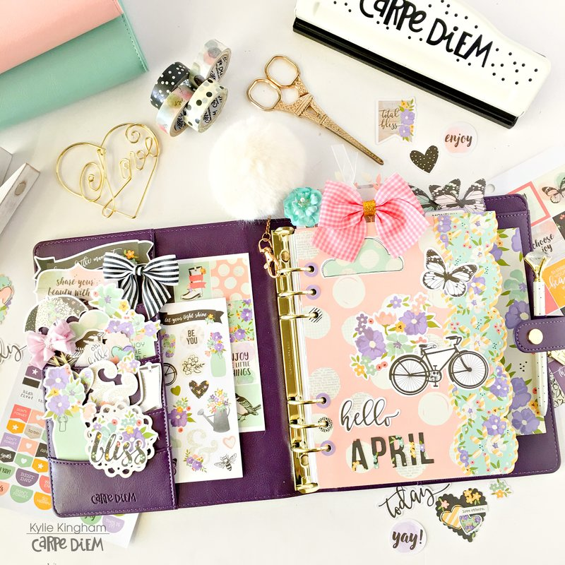 Carpe Diem ~April Planning With Bliss.