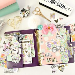 Carpe Diem ~April Planning With Bliss.
