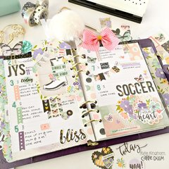 Carpe Diem ~April Planning with Bliss Collection.