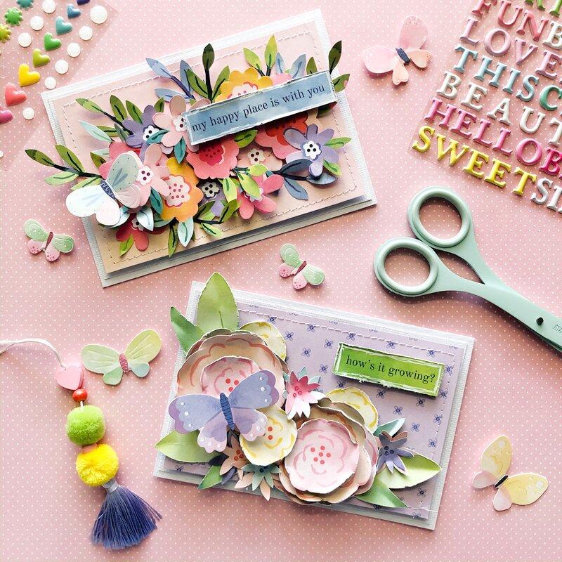 Garden Bloom cards