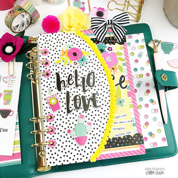 Oh Happy Day Planner pages.