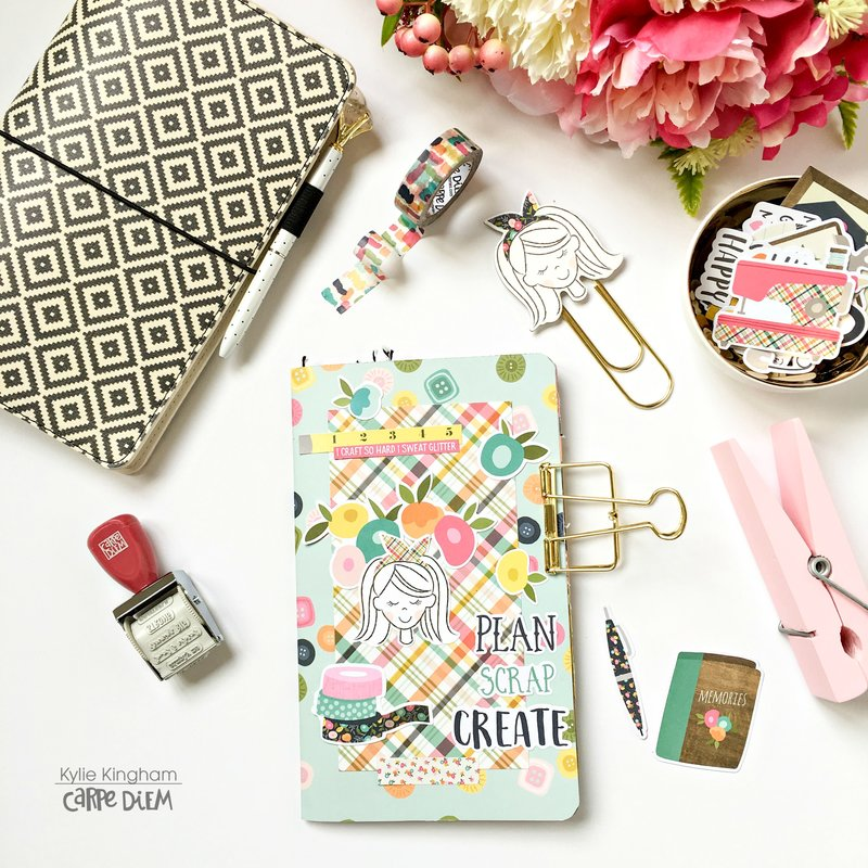 Crafty Girl Travellers Notebook.