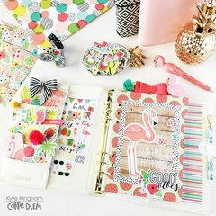 Hello Summer Planner pages
