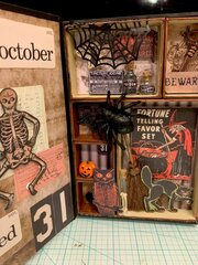 Halloween configuration book