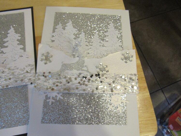 Where Christmas card variation