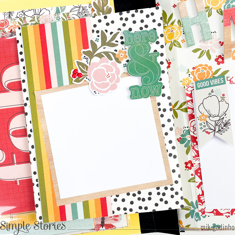 Snap Flipbook with Hello Today Collection - Simple Stories