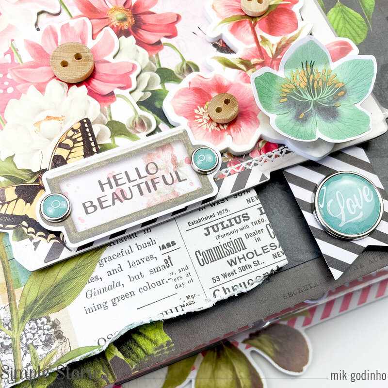 Snap Flipbook with SV Cottage Fields Collection - Simple Stories