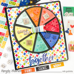 Snap Binder with Family Fun Collection - Simple Stories