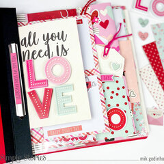 Snap Flipbook with Sweet Talk Collection - Simple Stories