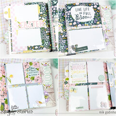 Snap Flipbook with Bunnies and Blooms Collection - Simple Stories