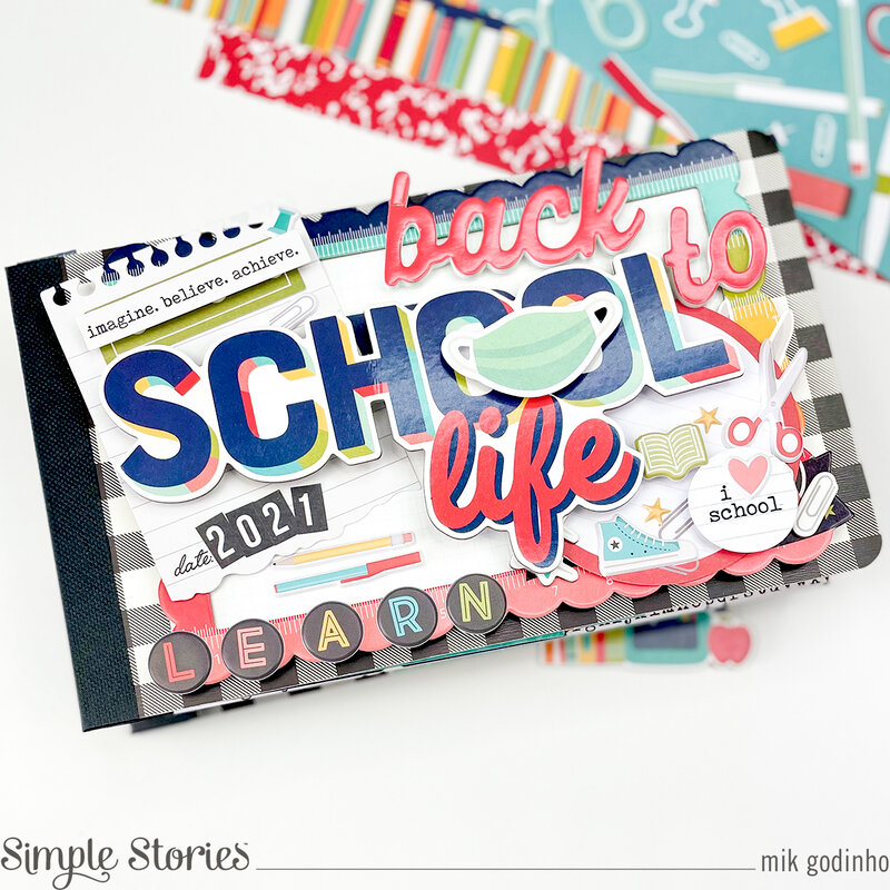 Snap Flipbook with School Life Collection - Simple Stories
