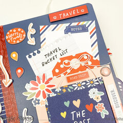 Snap Flipbook with Safe Travels Collection - Simple Stories