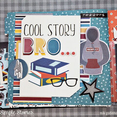 Flipbook Snap with Bro & Co Collection - Simple Stories