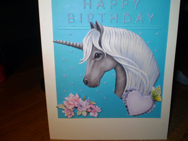 A Unicorn Happy Birthday
